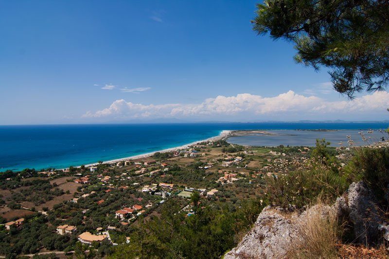 View over Ag. Ioannis Beach