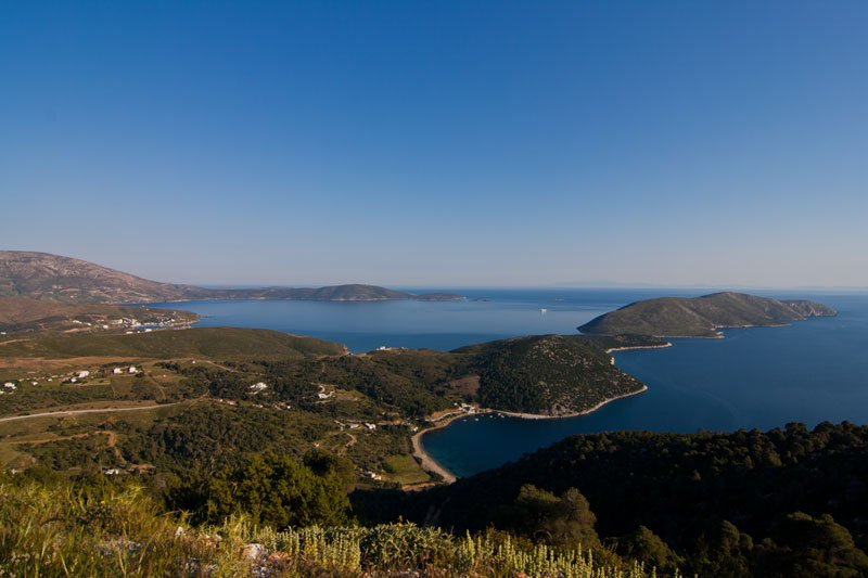 View over Skyros