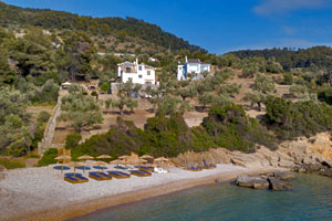 Beachfront Luxury Villa in Alonissos