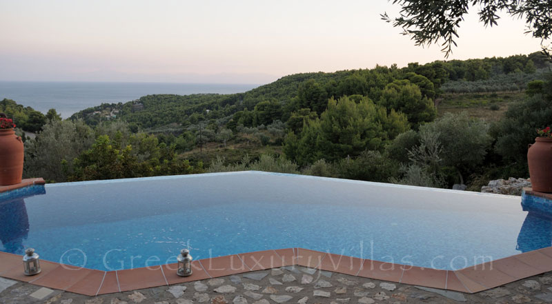 Pool and View of Villa