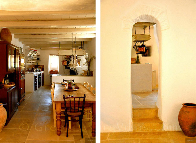 Beautiful Traditional Kitchen in Andros