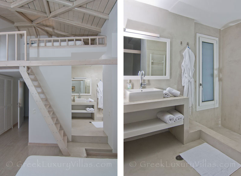Bedroom of Luxury Villa in Andros