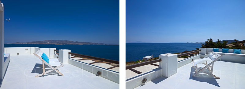 Seafront Luxury Villa in Antiparos