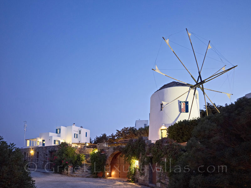 Antiparos Luxury Villa and Windmill for Groups