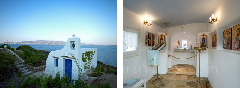 Antiparos Villa with Chapel for Weddings