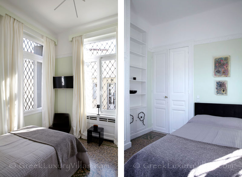 Athens City Center Luxurious Bedroom