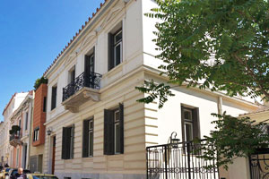 Neoclassical Luxury Villa in Plaka, the Historic Center of Athens