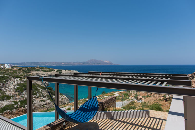 Chill-out with seaview at a modern luxury villa in Crete
