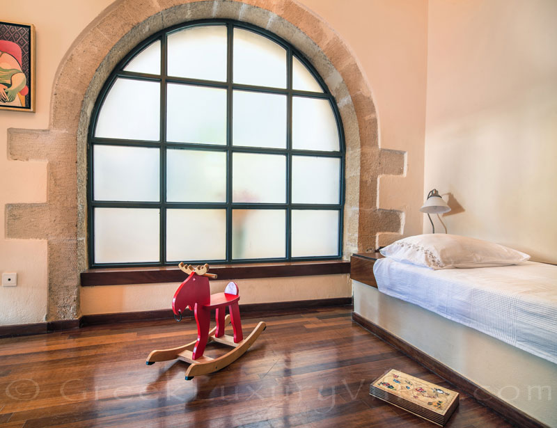 A single-room in the exclusive historic villa in a traditional village of Crete