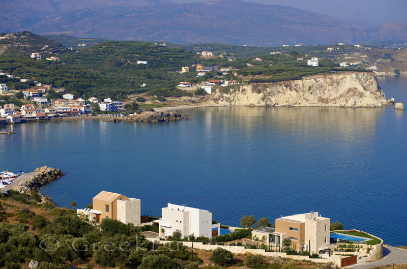 Seafront villas in Almyrida, Crete