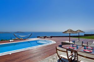 Villa Ivory - a modern luxury villa with sea view, Crete