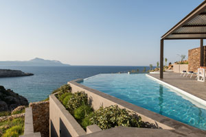Seafront Luxury Villa near Chania, Crete