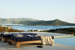 Contemporary Villa with Infinity Pool in Elounda, Crete
