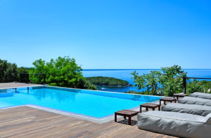 Luxury Villa with Heated Pool,Private Chef & Speedboat in Sivota