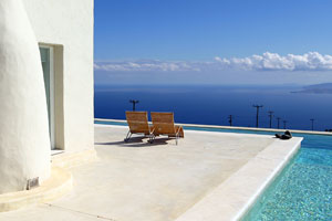 Luxurious Villa with Pool on the Cyclades Island Kea