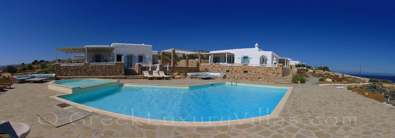 Koufonisi luxury villa with pool