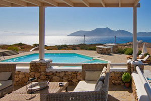 Exquisite Luxury Villa with Pool, Sauna, Hamam and Gym on Koufonisi