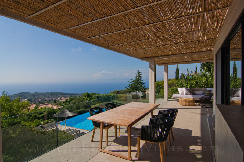 Villa in Lefkas with private baby pool