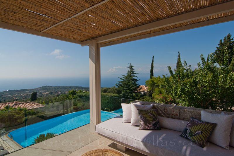 Modern villa with private baby pool in Lefkas