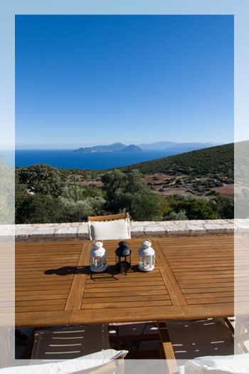Villa Moon, a 5-bedroom luxury villa with private pool and stunning view on Lefkas