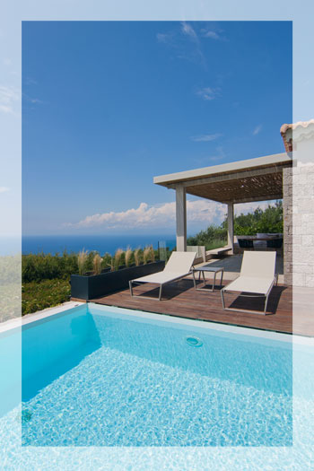 Villa Pomegranate - A romantic 1-bedroom cottage with a private pool