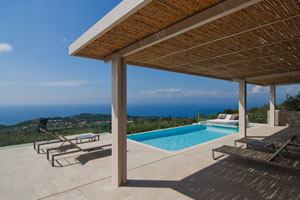 Villa Almond - A romantic 2-bedroom villa with pool on Lefkas