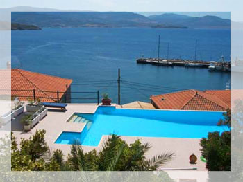 Traditional Villa with Pool in Molivos, Lesvos island, Greece
