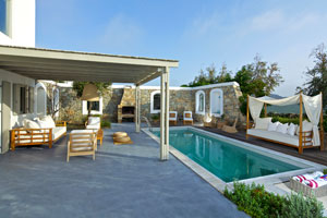 Mykonos Luxury Villa near Kalafatis Beach