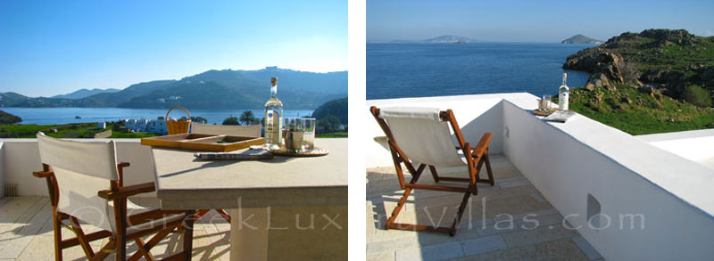 Beachfront villa in Patmos