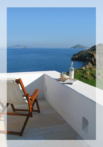 Beachfront Villa on Patmos, Greece