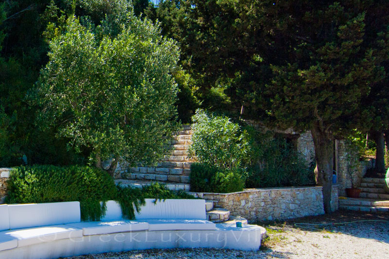 A beachfront villa in Paxos where one can relax by the sea