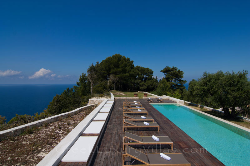 A hiltop estate in Paxos with amazing sea view