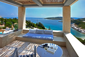 Stunningly Beautiful Waterfront Villa on Paxos, Greece