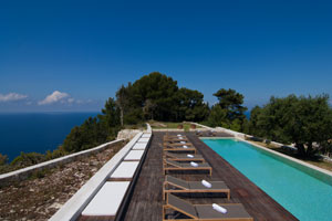 Newly built: Private Hilltop Estate with Pool on Paxos