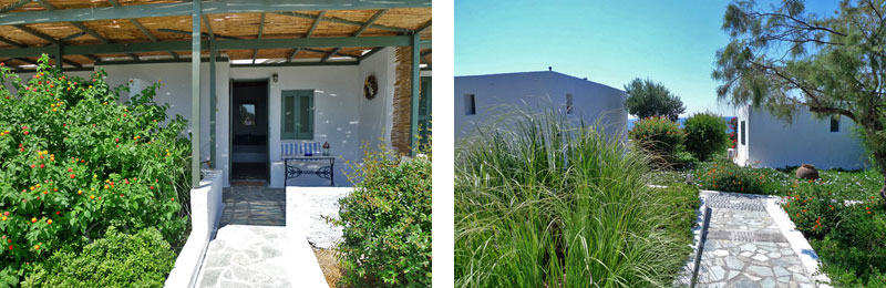 A cute beach bungalow in Peloponnese for honeymoon
