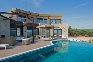 Luxury Villa with Heated Pool at Costa Navarino, Pylos