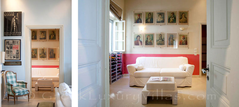 A bedroom in an exquisite traditional villa in Sifnos