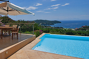LuxuVilla with Pool on Skiathos, Greece