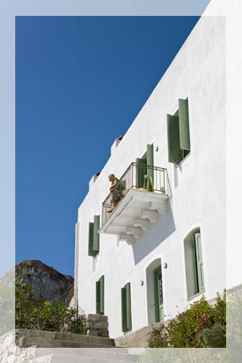 Traditionelle Luxusvilla auf Skyros