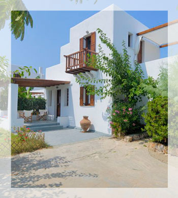 Villa Eros on Skyros - A Romantic Villa for 2
