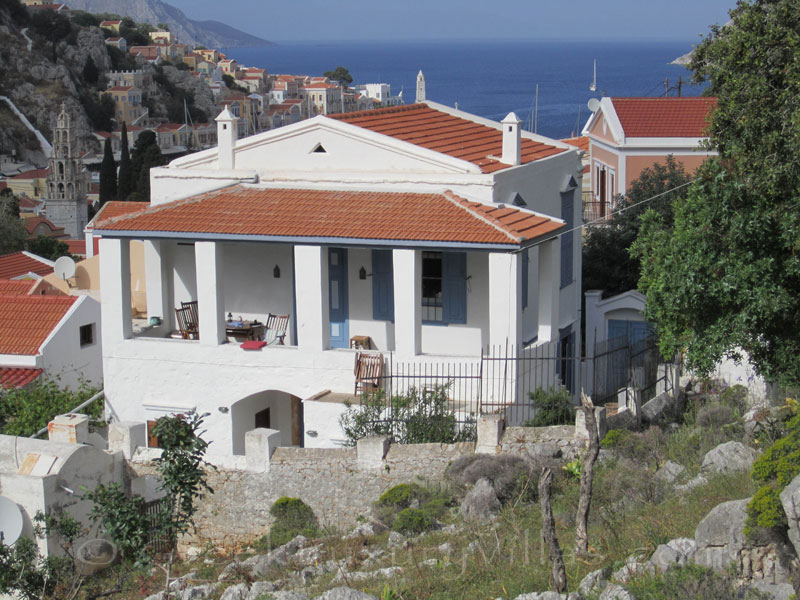 Traditional villa in exclusive location on Symi, Dodecanese