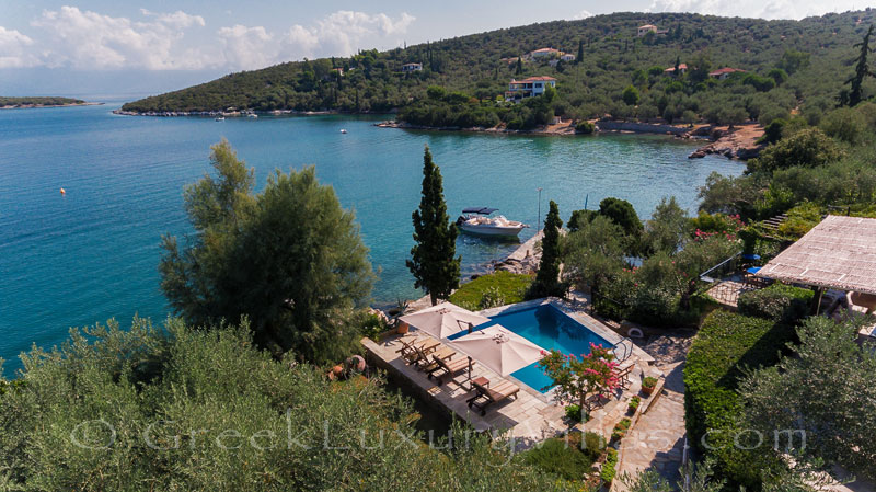 luxurious seafront villa with private beach boat chef butler panoramic