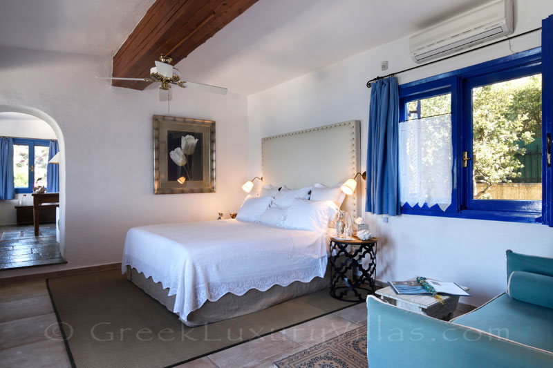 beachfront villa with private chef butler main house master bedroom suite
