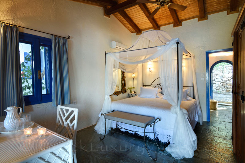 waterfront villa with private chef butler guest house bedroom