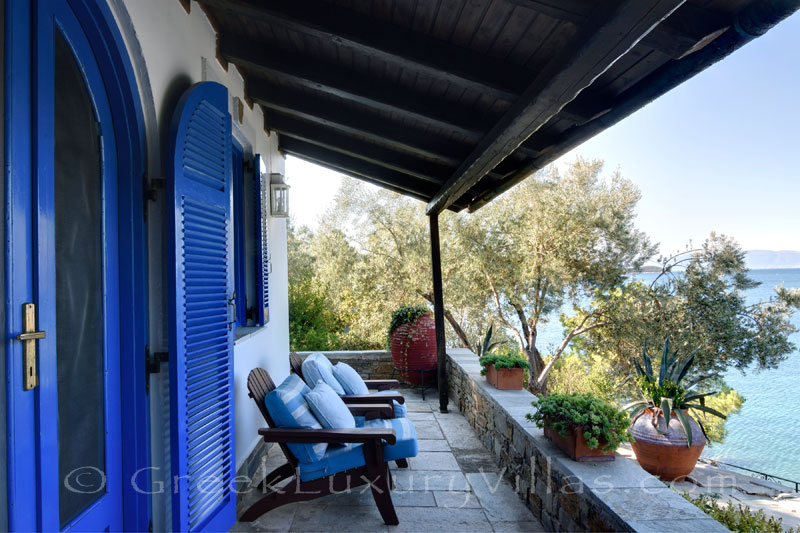 seafront villa with private chef butler guest house veranda