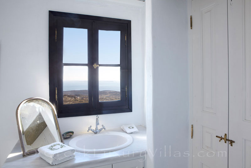 traditional house for two bedroom seaview over Tinos