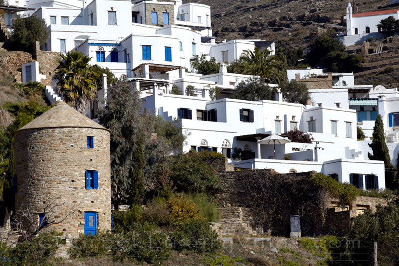 beautifully restored house in traditional village Tinos