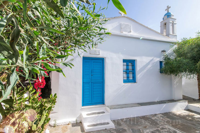 traditional villa for four on Tinos