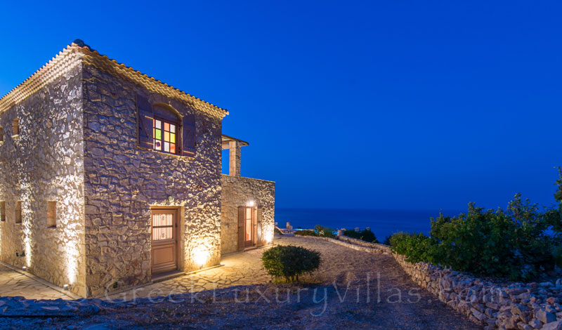 Villa with seaview and pool in Zakynthos