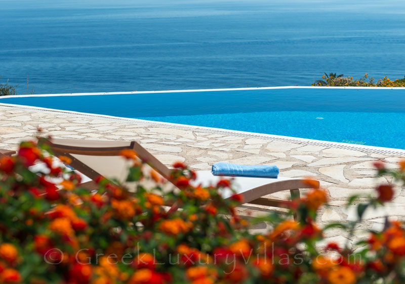 Three bedroom villa with pool and seaview in Zakynthos